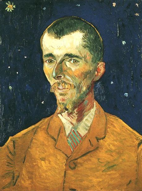 Portrait of Eugène Boch~Vincent van Gogh