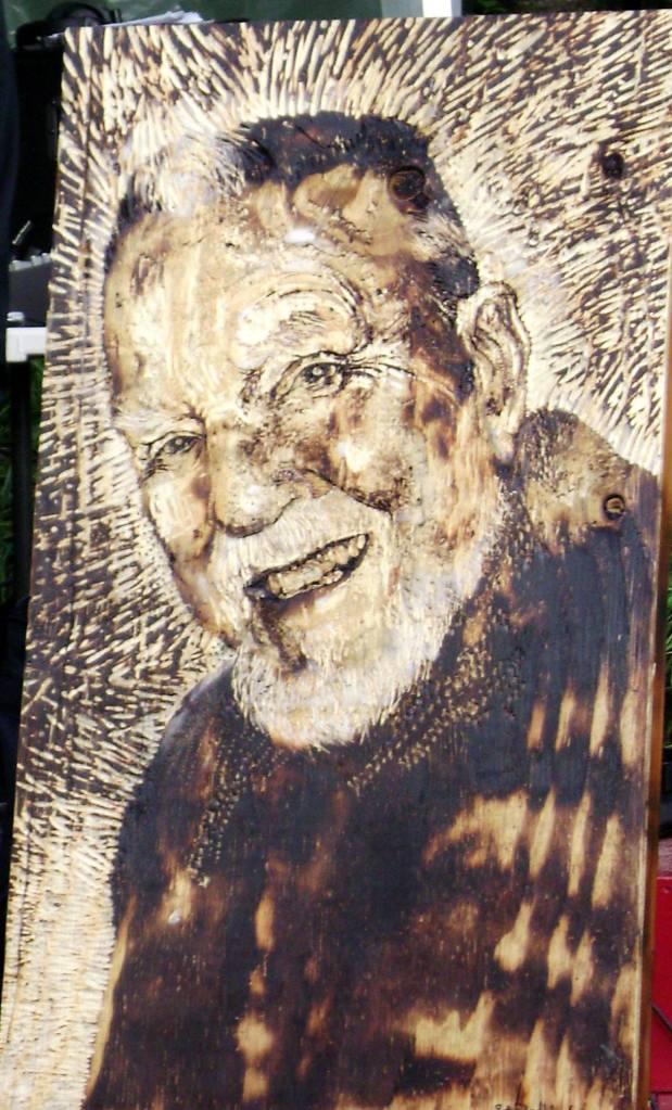 """Portrait of Julius Rockwell"" by Erin Pollock, 2014"